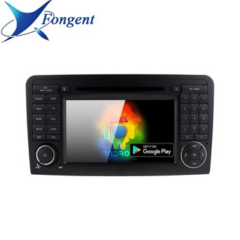 For Mercedes Benz ML300 ML320 ML350 ML430 ML450 ML500 ML550 ML55 ML63 AMG Car Radio GPS Navigation RDS Android 9.0 DVD Player image