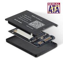 Твердотельный накопитель mSATA до 2,5 дюймов SATA3 HDD SSD адаптер конвертер карт с 7 мм Толщина Защитный чехол