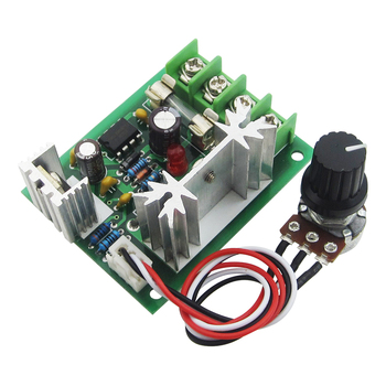 CCM5 PWM DC motor governor 12V24V30V general 120W controller with fuse wire image