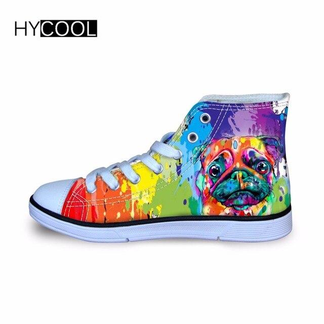 29d8d33fa5650a niños Sneakers HYCOOL niños caminar transpirable perro para bota diario  niños zapatillas deportes lona impreso Graffiti dtqwqr.
