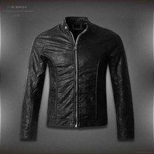 Кожаная мужская куртка, брендовые мотоциклетные кожаные куртки для мужчин, популярные дизайнерские мужские повседневные куртки, размер M-4XL