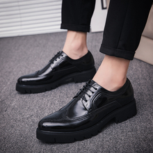 Man Casual Shoes 2018 Breathable Mens Sneakers Summer Fashion Dress Men Black Platform