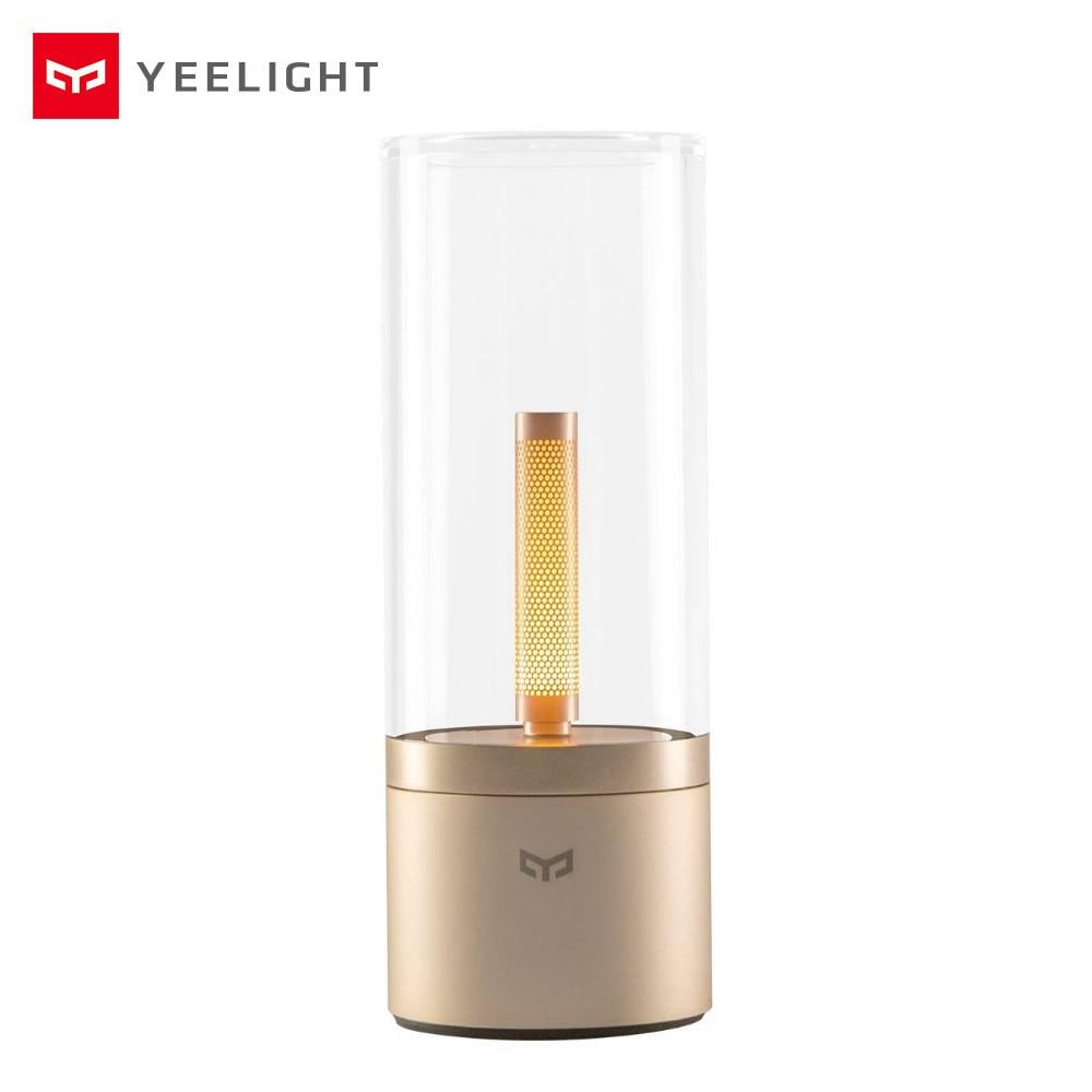 Yeelight Candela Intelligentes LED Bougie Lumière Ambiance Lampe Tourner Gradation Chambre Chevet Veilleuse pour Xiaomi Mi Home Application