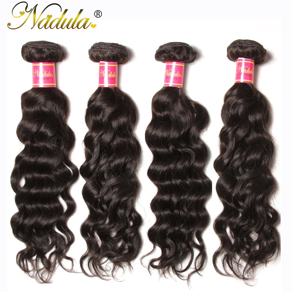 Nadula Hair  Natural Wave Hair 1 Bundle 100%   10-28 inch Natural Color  4