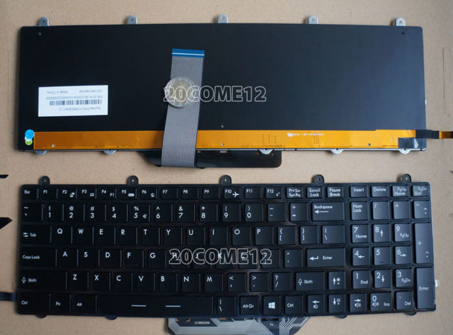 New For Msi Ge60 Ge70 2pe Apache Pro Laptop Keyboard Full Colorful