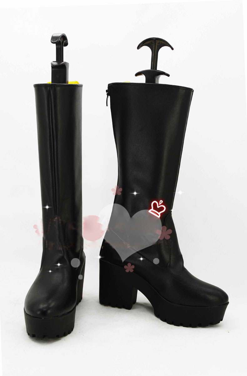Anime Aldnoah Zero SLAINE TROYARD Cosplay Boots costume shoes Custom Made Halloween Free Shipping