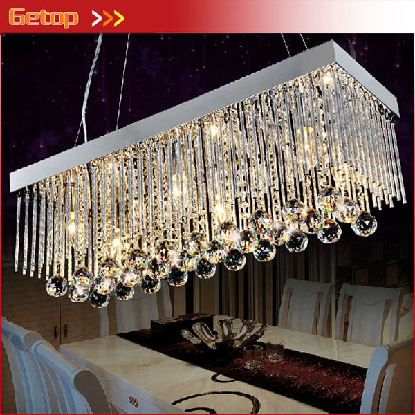 Best Price Crystal Chandeliers Restaurant Pendant Lamp Rectangle K9 Crystal Ceiling Lamp Fixture Modern LED Lighting z best price l80xw80xh100cm modern k9 square crystal chandelier restaurant lamp hanging wire pyramid crystal lamp project lights