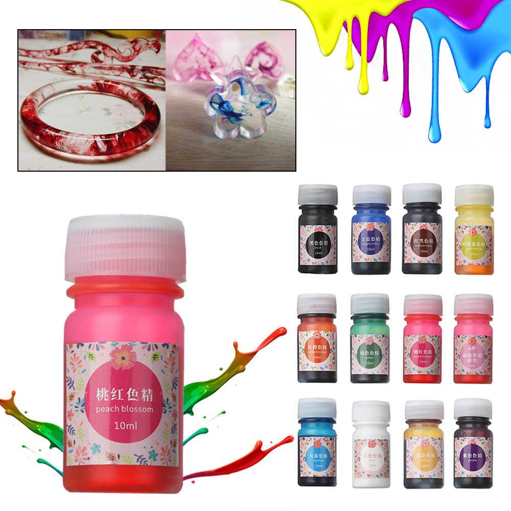 Résine époxy UV pratique 10g | Colorant Colorant, Pigment bricolage fait main, bijoux accessoires de fabrication, fournitures artisanales de bricolage sans odeur