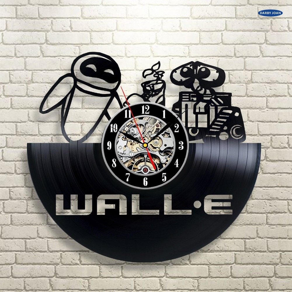 Disney wall clocks reviews online shopping disney wall clocks wall clock wall e vinyl record wall clock decorate your home with modern large disney art gift for kids girls and boys amipublicfo Choice Image