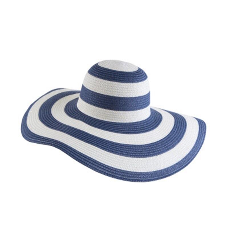 ac7efff0e89 Fashion Straw Sun Hat for Women Casual Hats Feminino Elegant Sun Hat ...