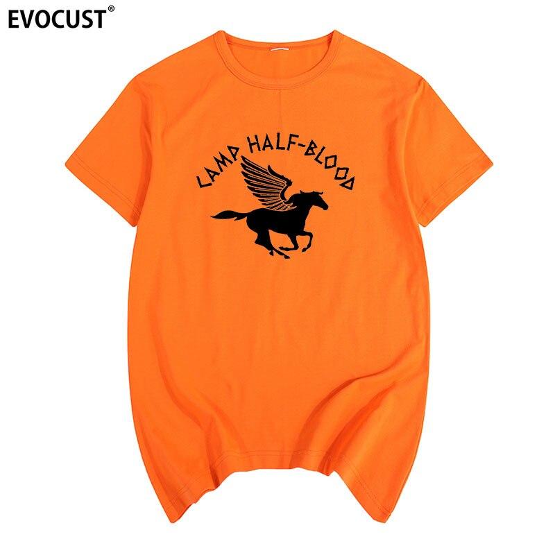 Camp Half Blood Percy Jackson Funny Long Island Sound Summer T-shirt Cotton Men T Shirt New Women TEE Fashion Casual