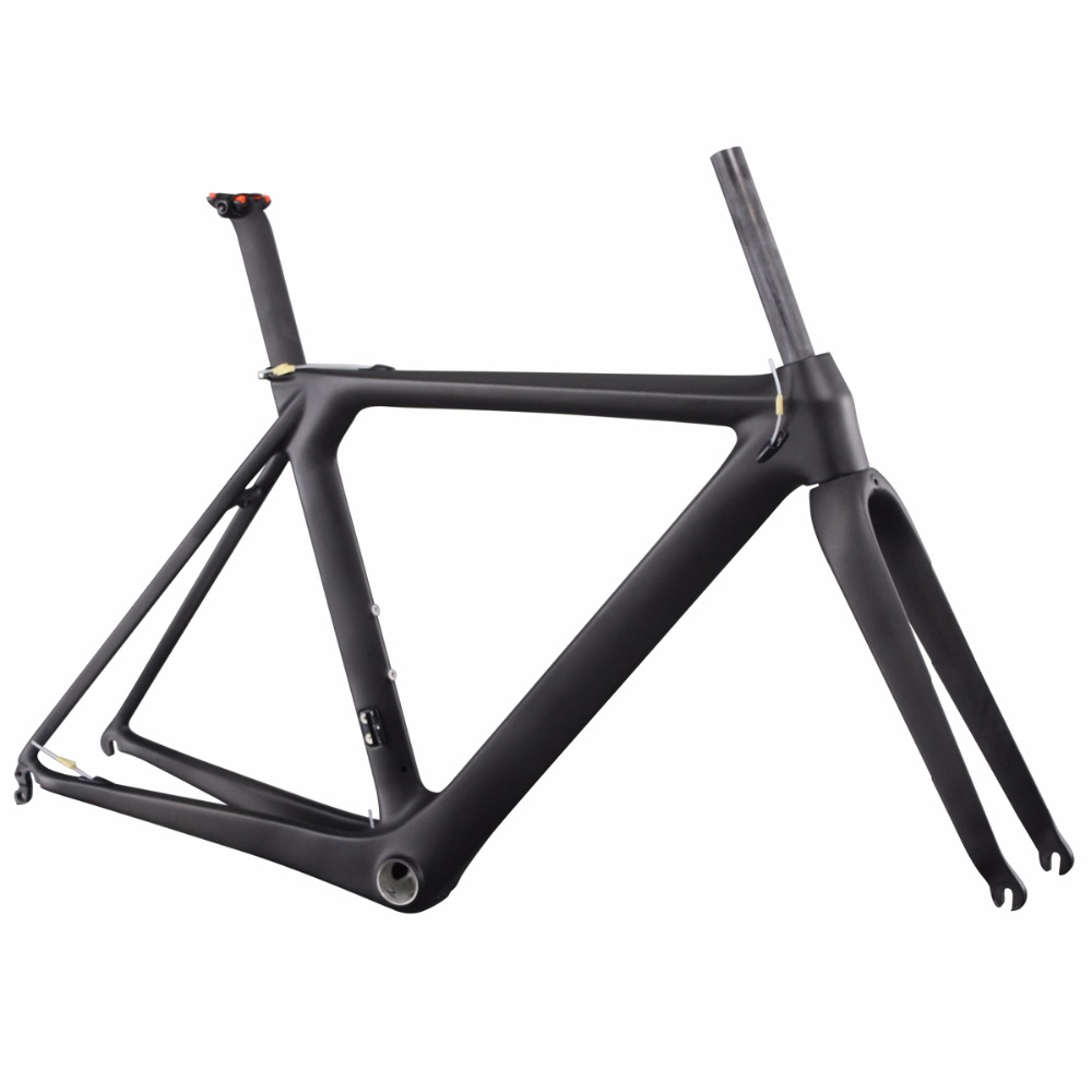 ICAN BIKES 2014 newest 1050g,UD-matt,BB86 and DI2 compatiable carbon road bike frame AERO007 2015 ican bikes carbon completed road bike 7 7kgs full bike aero 007