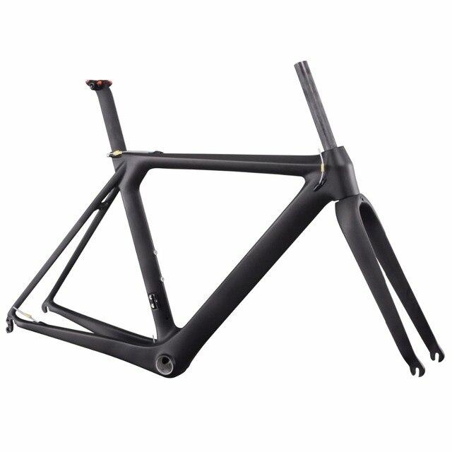 ICAN BIKES 1050g UD-matt BB86 DI2 compatiable carbon road bike frame AERO007