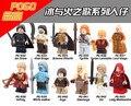 12 Unids MOC Daenerys Targryen Por Encargo Serie de Bloques de Construcción de Figuras de Hielo y Fuego Juego de Tronos Eductaional Juguetes de Aprendizaje