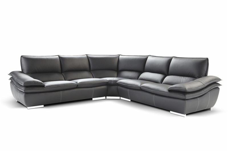 US $1389.0 |Sofas for living room with corner sofa leather for modern sofa  set large corner sofa-in Living Room Sofas from Furniture on AliExpress