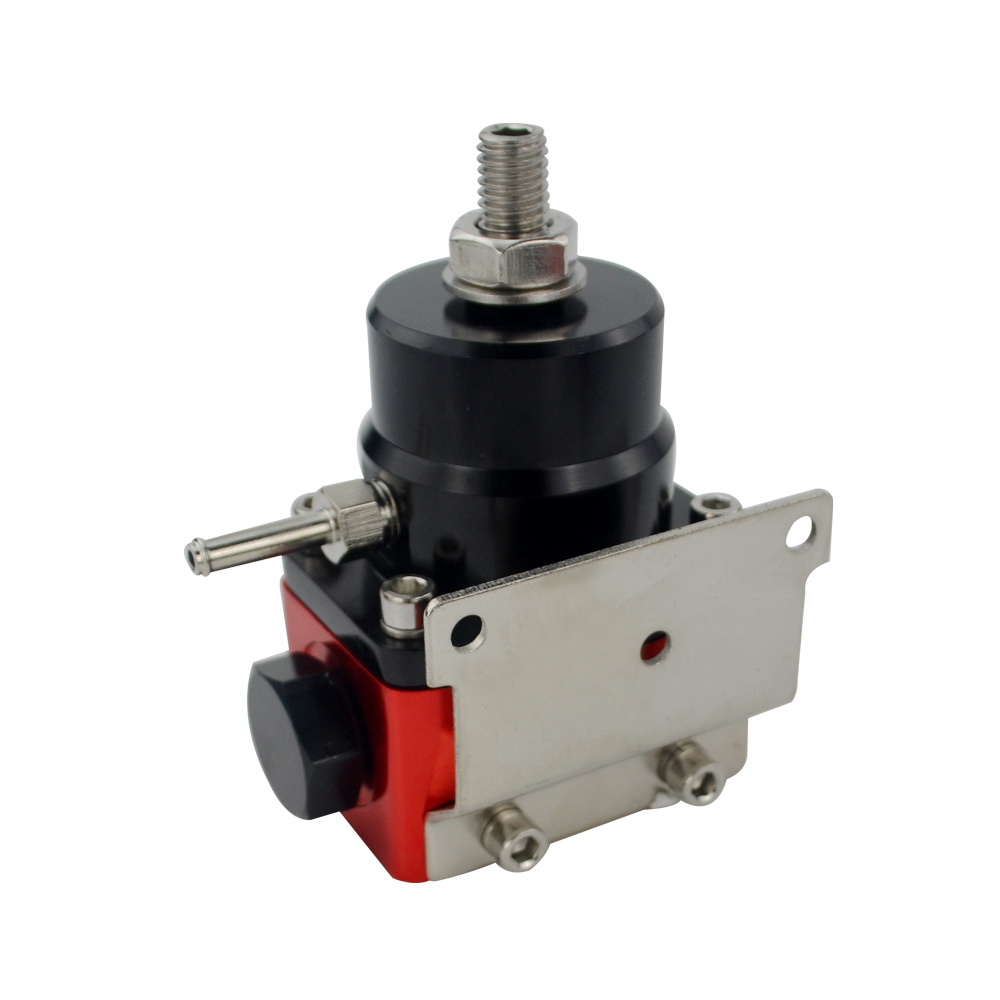 Image 4 - VR   Black&Red Universal fpr AN6 Fitting EFI fuel pressure regulator For 7MGTE MKIII with hose line.Fittings.Gauge VR7842BKRD-in Oil Pressure Regulator from Automobiles & Motorcycles