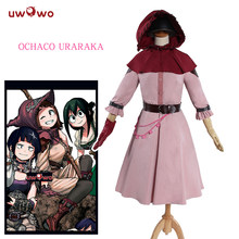 UWOWO Ochako Uraraka Cosplay Boku No Hero Academia Cosplay Anime My Hero Academia Ochaco Costume Ochako Uraraka Costume Women(China)