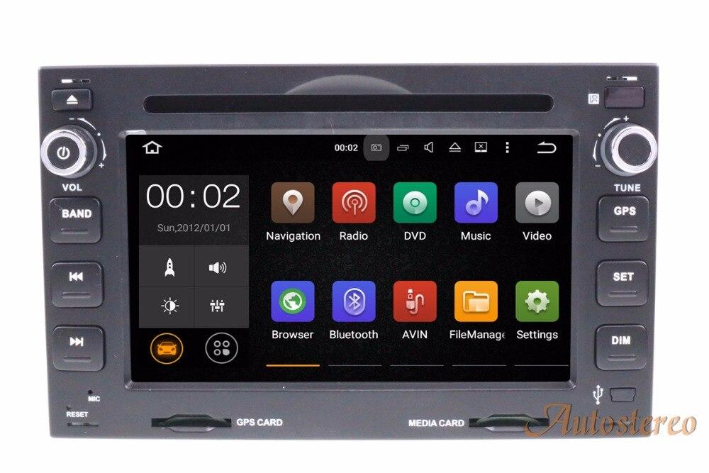 Android8.0 Voiture DVD Lecteur CD pour Peugeot 307 2002-2010 pour Peugeot 207/3008 2009-2011 GPS GPS unité navigation GPS multimédia