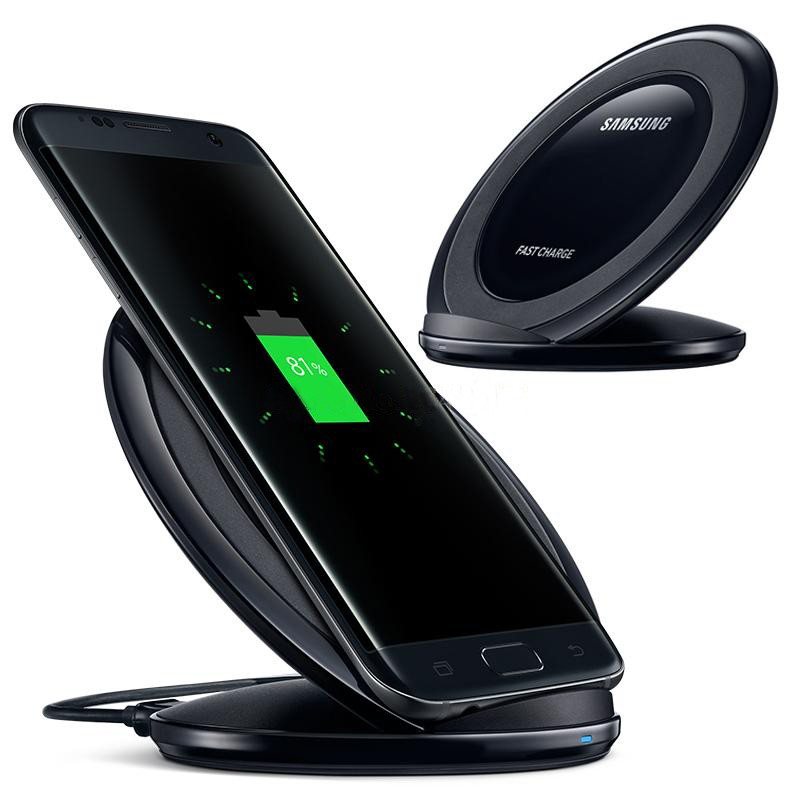 Fast charger QI Wireless Charger S7 Pad Fast Charging Dock For Samsung Galaxy S7 / S7 Edge / S6 Edge+ / Note 5 Google HTC LG