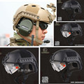 NEW Emerson FAST Helmet with Protective Goggle Pararescue Jump Type helmet Military Tactical airsoft helmet Free Shipping