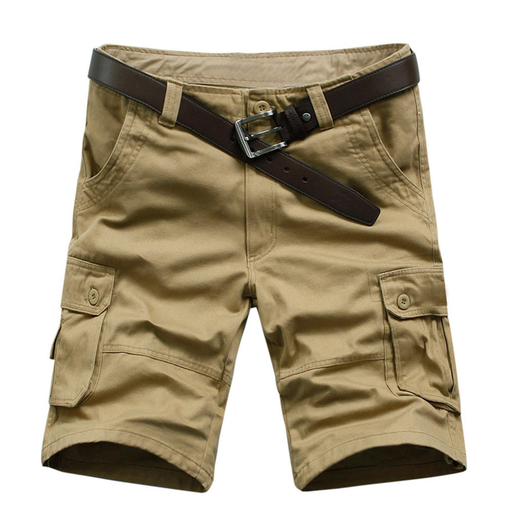 New Arrival High Quality Men Camouflage Cargo Bermuda Casual Shorts Multi Pockets Tactical Military Shorts For Men
