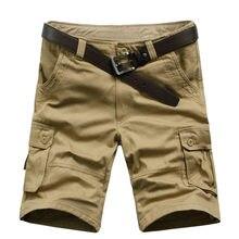 Nieuwe Collectie Hoge Kwaliteit Mannen Camouflage Cargo Bermuda Casual Shorts Multi Zakken Tactische Militaire Shorts Voor Mannen