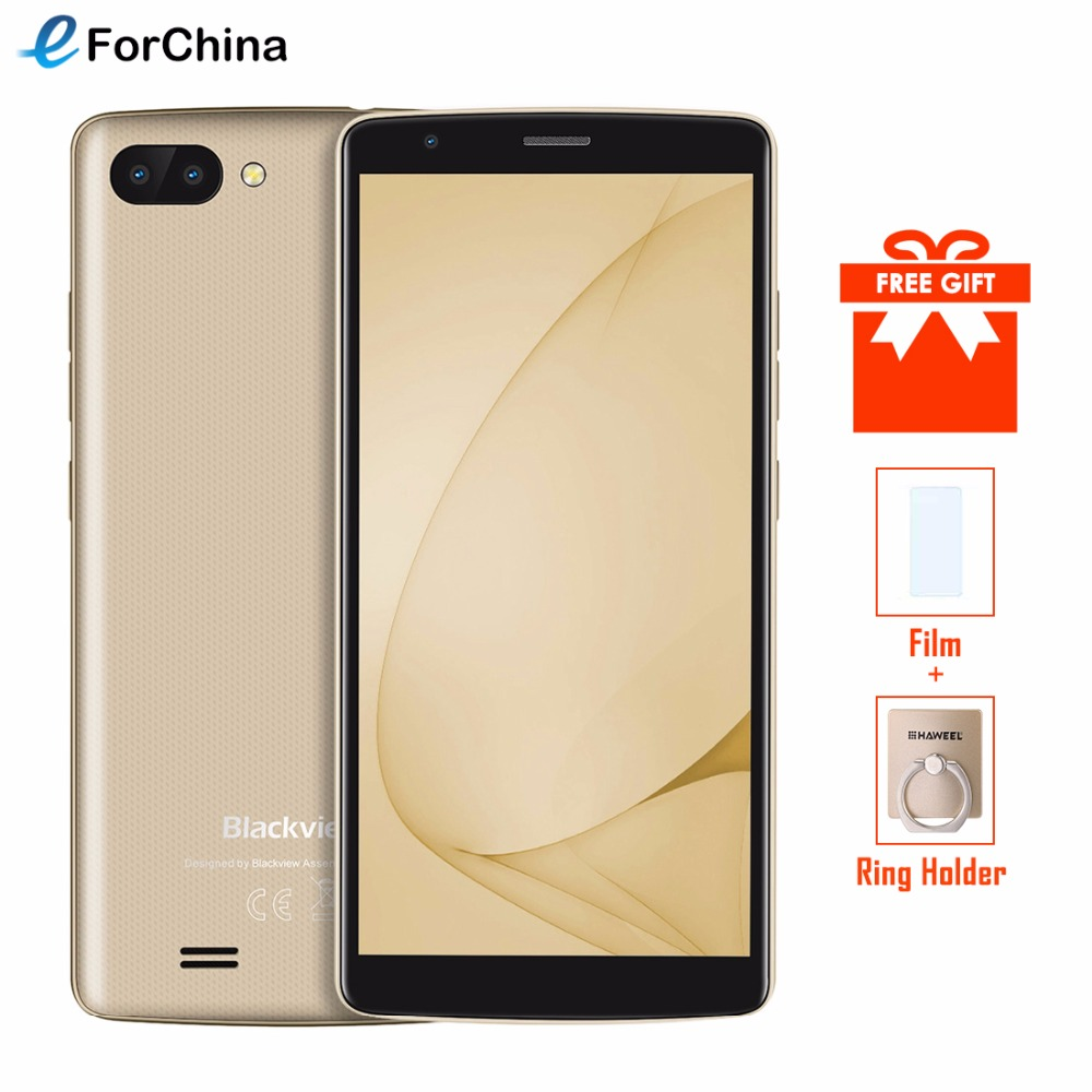 NEW BLACKVIEW A20 Smartphone Android Go 5.518:9 IPS MTK6580M Quad core Mobile Phone Dual Rear Camera 3000mAh GPS 3G UnlockedNEW BLACKVIEW A20 Smartphone Android Go 5.518:9 IPS MTK6580M Quad core Mobile Phone Dual Rear Camera 3000mAh GPS 3G Unlocked