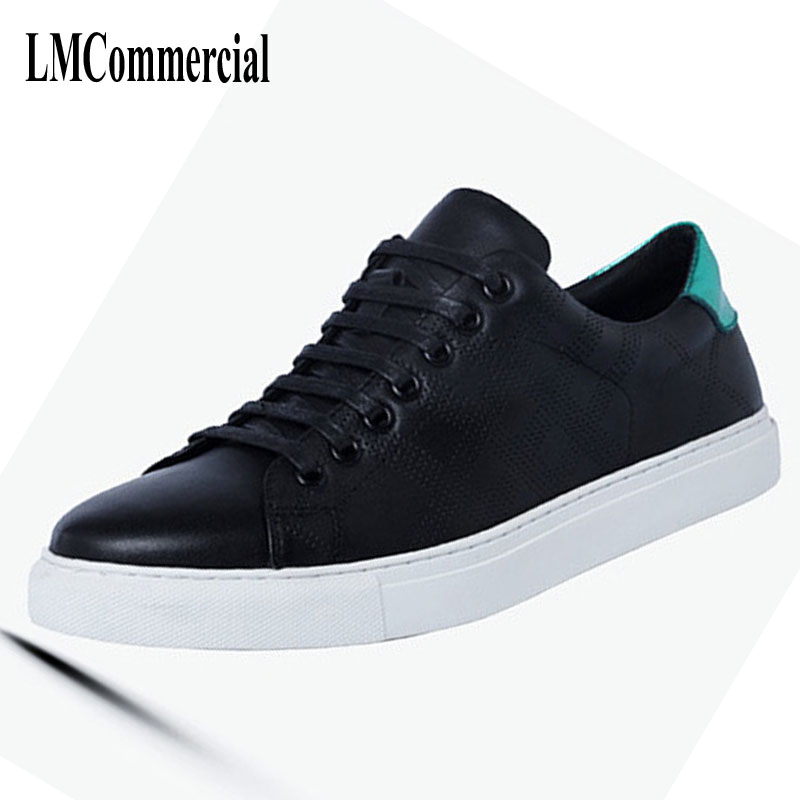 Men's casual shoes hollow punching leather breathable sneaker shoes shoes fashion shoes new color 2017 new spring imported leather men s shoes white eather shoes breathable sneaker fashion men casual shoes