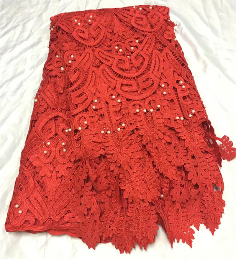 Free shipping (5yards/pc) latest arrival beaded African guipure lace fabric cord lace fabric for party dress many colors WL3936Free shipping (5yards/pc) latest arrival beaded African guipure lace fabric cord lace fabric for party dress many colors WL3936