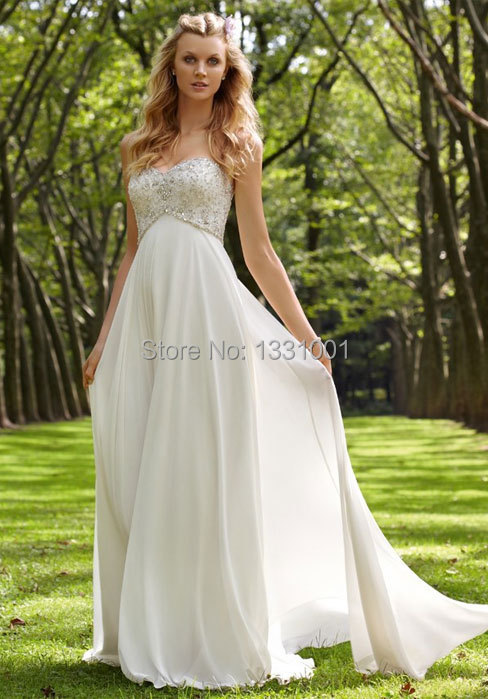 Vestido De Casamento 2017 Y Sweetheart Wedding Gown White Boho Dress For Women Weding Beach Vestidos Para In Dresses From