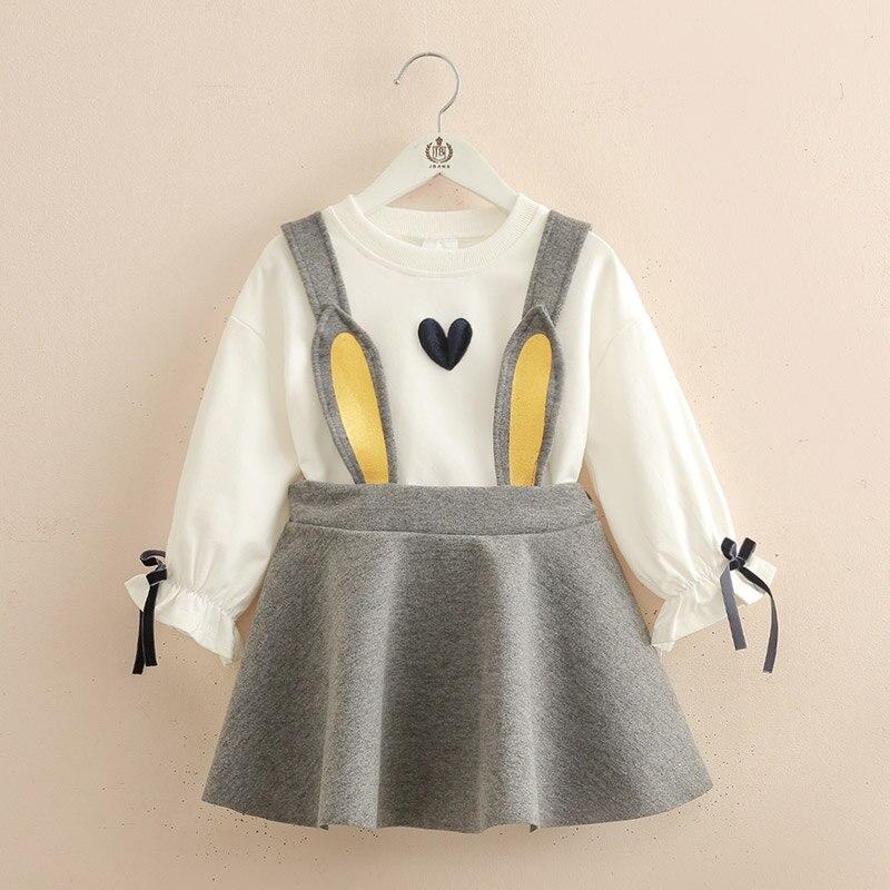 Childrens Wear Childrens Skirt New Autumn Girls T-shirt Girls SetChildrens Wear Childrens Skirt New Autumn Girls T-shirt Girls Set