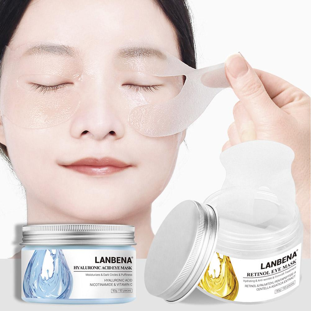 50pcs/box Eye Mask Collagen Gel Eye Patches Under The Eye Bags Dark Circles Removal Moisturizing Eyes Pads Masks Skin Care(China)
