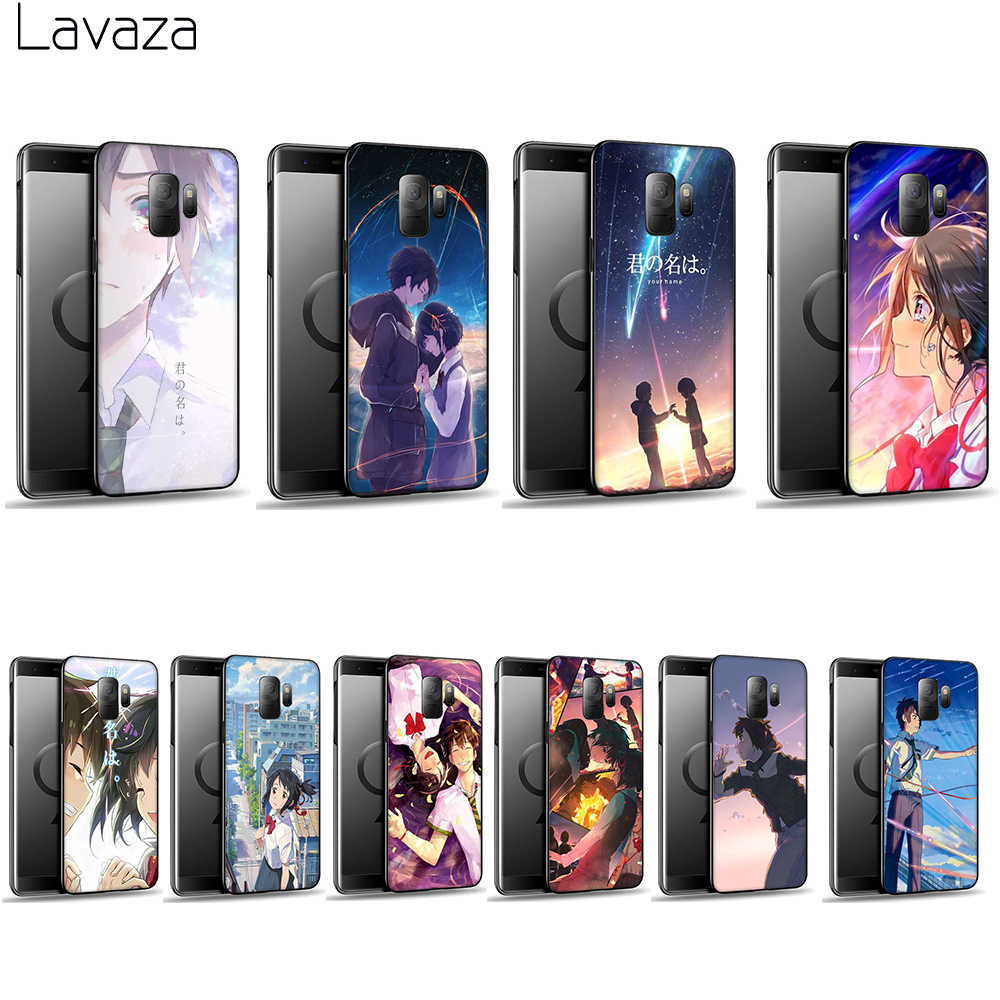 Lavaza Anime your name Soft Case for Galaxy A3 A5 2016 2017 A6 plus A7 A8 A9 J6 2018 A10 30 40 50 70