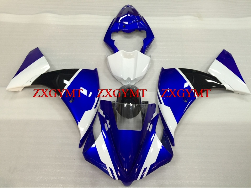 Body Kits for YZFR1 2012 - 2014 Abs Fairing YZF R1 2012 Blue White Black Full Body Kits YZFR1 2012Body Kits for YZFR1 2012 - 2014 Abs Fairing YZF R1 2012 Blue White Black Full Body Kits YZFR1 2012