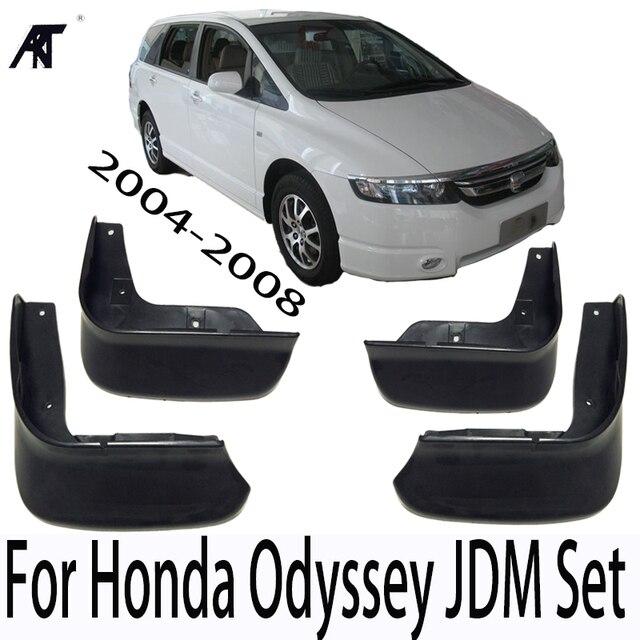 Mud Flap For Honda Odyssey 2004 2008 Jdm Set Molded Mud Flaps Mudflaps Splash Guards