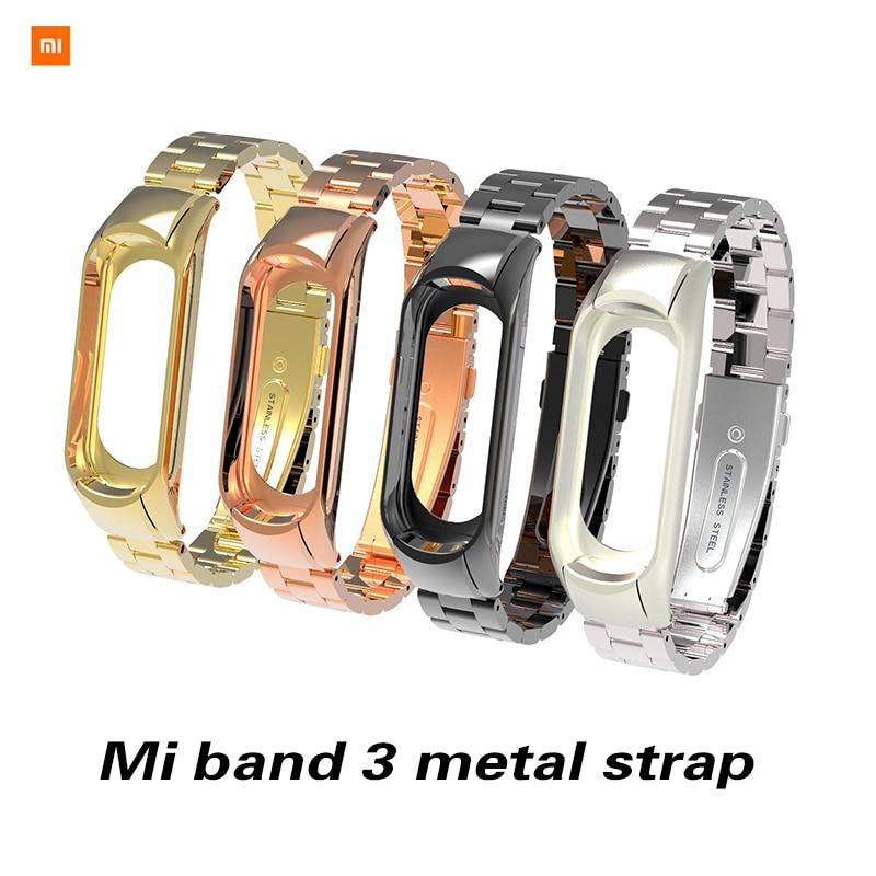 1 pcs Xiaomi mi band 3 Wrist Strap Sport Strap watch Metal Strap For Mi Band 3 Smart Bracelet for Xiaomi Band 3 Accessories