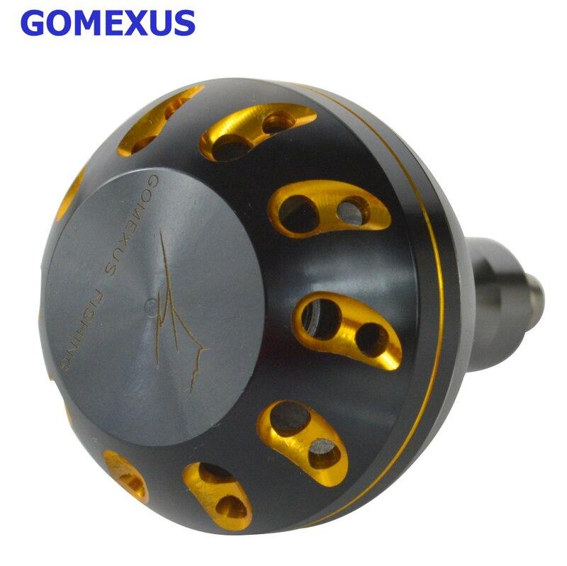 Power Knob 47mm For Shimano Penn Daiwa Okuma Avet Quantum Van Staal Zeebaas Accurate Reel 5000-10500 Reel Handle Gomexus