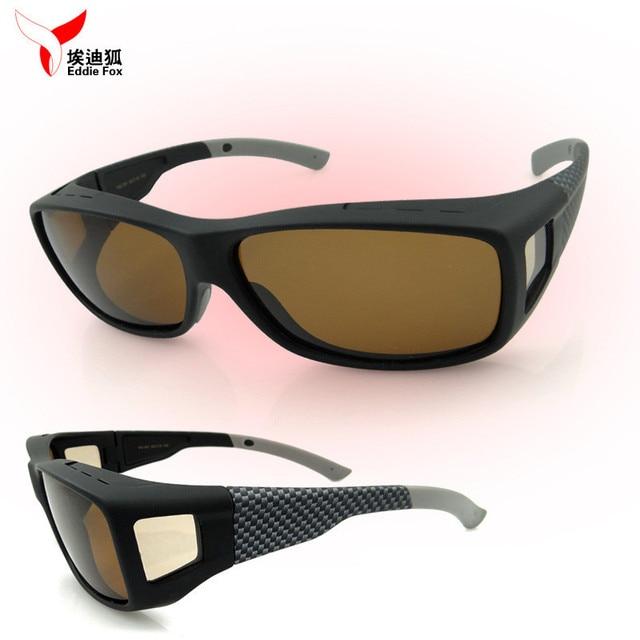 3e91189583534 Unisex POLARIZED FIT glasses OVER SUNGLASSES DRIVING Biking Wraparound Sun  Shield- Women Men Safety glasses over prescription
