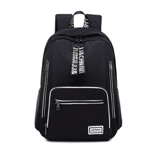 Large-capacity backpack casual female shoulder bag smart rechargeable waterproof Oxford cloth middle school student bag new unisex oxford cloth backpack casual travel student backpack tote shoulder bag large capacity computer bag xz 205