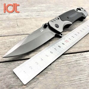 Image 1 - LDT FA18 מתקפל סכין 7CR18MOV להב G10 ידית צבאי קמפינג הישרדות סכיני ציד כיס טקטי מכונת כביסה סכין EDC כלים