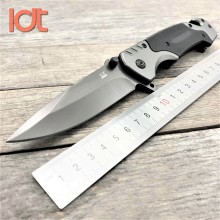 LDT FA18 Folding Knife 7CR18MOV Blade G10 Handle Knives Camping Survival Hunting Pocket Knife Tactical Knife EDC Tools tools c12 knife c12sbk2 matriarch2 folding knife c10 3 5 8 vg10 serrated blade tactical hunting camping knife