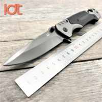LDT FA18 Folding Knife 7CR18MOV Blade G10 Handle Knives Camping Survival Hunting Pocket Knife Tactical Knife EDC Tools