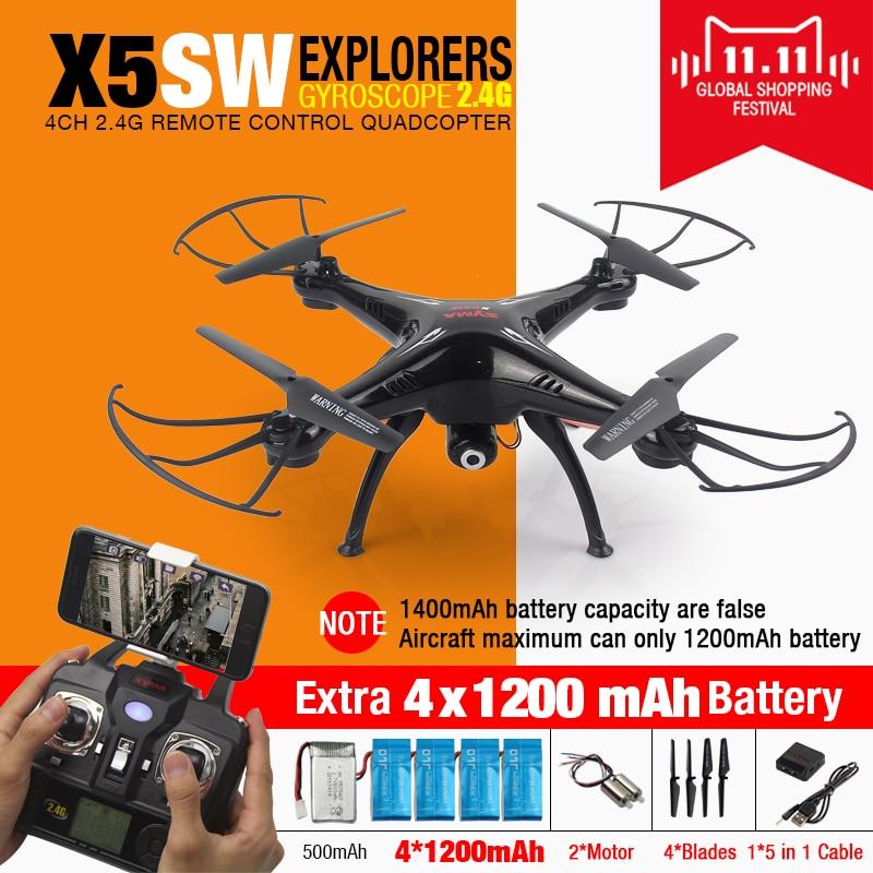 100 Original SYMA X5SW FPV font b RC b font Quadcopter font b Drone b font