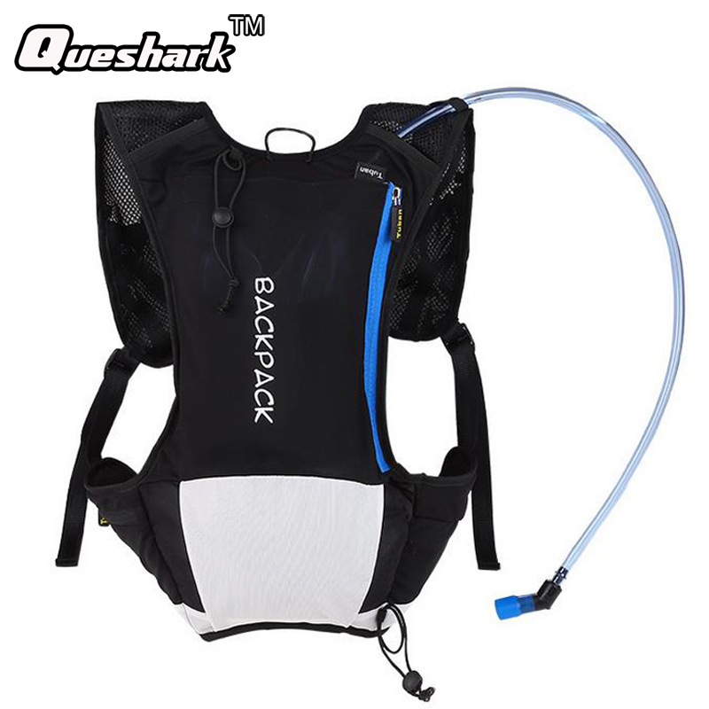 Ultralight Cycling Backpack Running Bag Outdoor Sports Hiking Mountain Climbing Travel Hydration Rucksack Without Water Bag roswheel 2l water bag backpack outdoor bag breathable cycling running hiking climbing bag running hydration backpacks rucksack