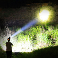 head lamp led recharge led flashlight 50000 lumens xhp70 headlamp usb headlight 18650 fishing head lantern lampe frontale