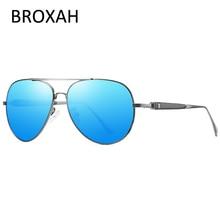 Fashion Pilot Polarized Sunglasse Men 2019 Brand Driving Sun Glasses for Metal Shades Male Eyewear Lunette De Soleil Homme