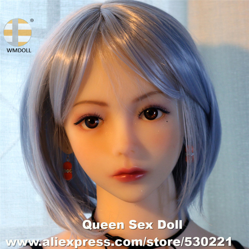 Top Quality #296 WMDOLL Head For Full Body Solid Silicone Sex Doll Oral Japanese Adult Love Doll Heads Oral Sexy Product For MenTop Quality #296 WMDOLL Head For Full Body Solid Silicone Sex Doll Oral Japanese Adult Love Doll Heads Oral Sexy Product For Men