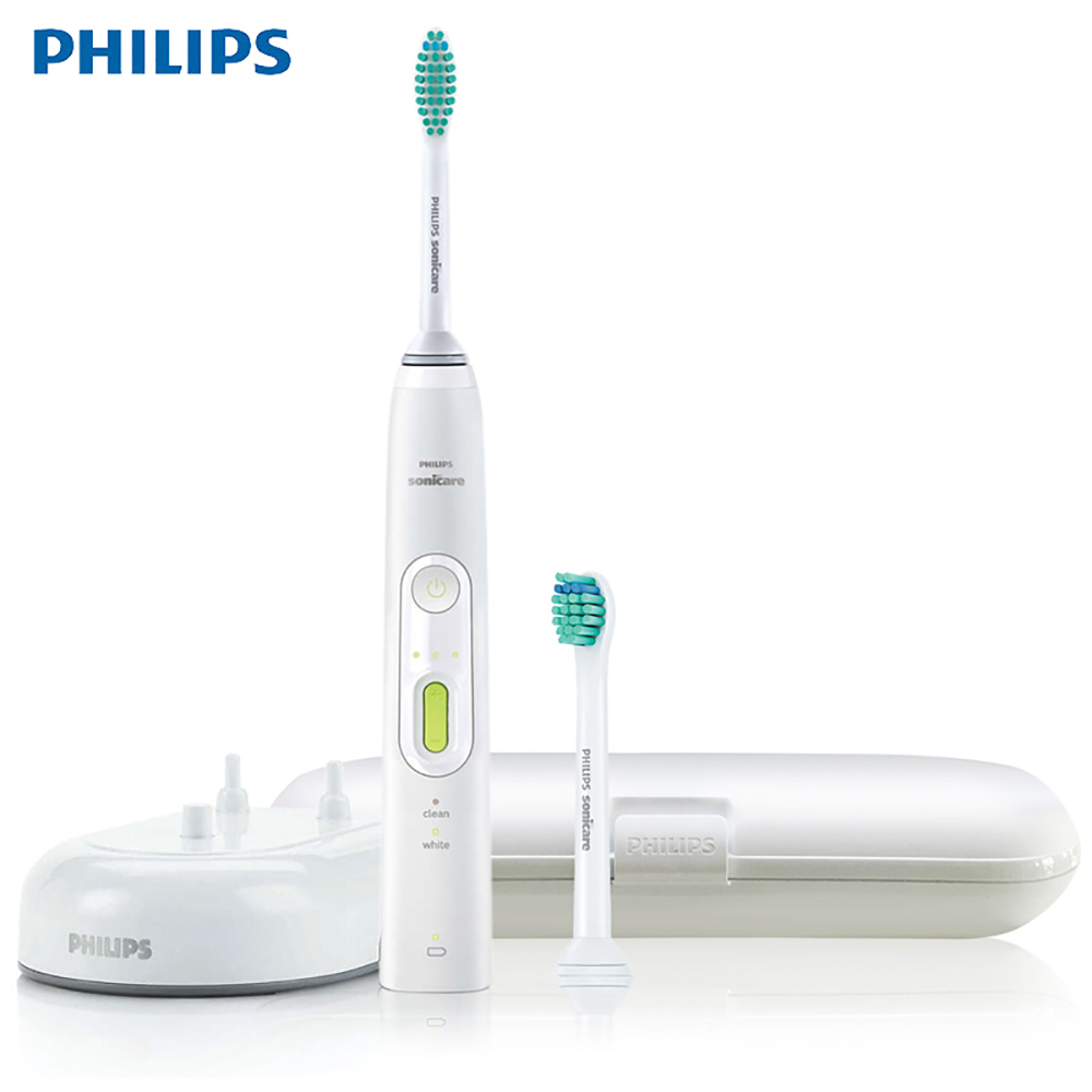 Philips Sonicare HealthyWhite Adult Sonic Electric Toothbrush Rechargeable HX8962/05 Two Smart Modes with 2 Brush Head 100-220V image
