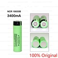 1 PCS 100% New Original NCR18650B 18650 3400 mAh Li - ion Rechargeable battery For Panasonic+ Free Shipping