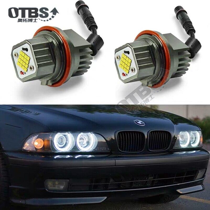 OTBS светодиодный кольцевой галогенный маркер высокой мощности canbus E39 80 Вт для bmw e39 M5 e60 E87 e61 e38 e66 E60 E63